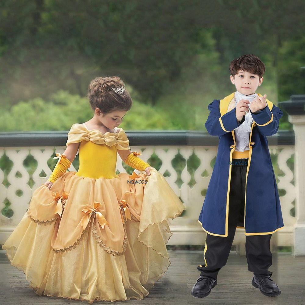 f1ee194aacf8dc Belle en het beest  jurk. Luxe  verkleedjurk voor  meisjes ...