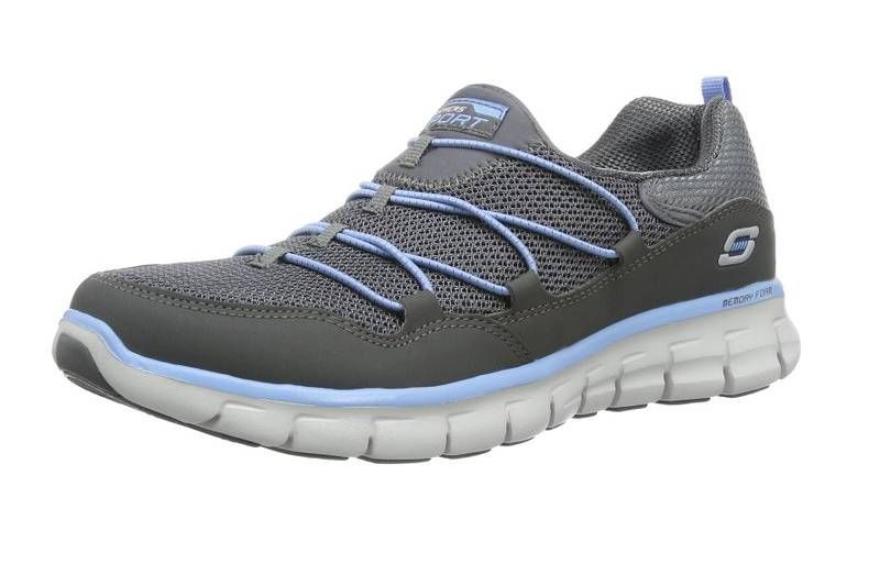 The Loving Life Memory Foam Fashion Sneakers have been designed for women. These sneakers are lightweight. Quality of product has been ensured by using synthetic materials.
