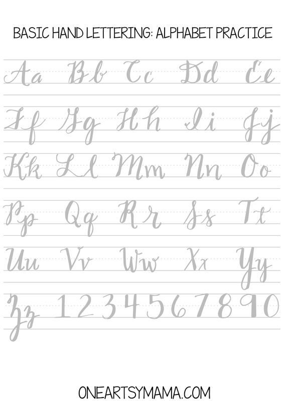 Calligraphy Practice2 Pdf Handlettering Kalligraphie Fur