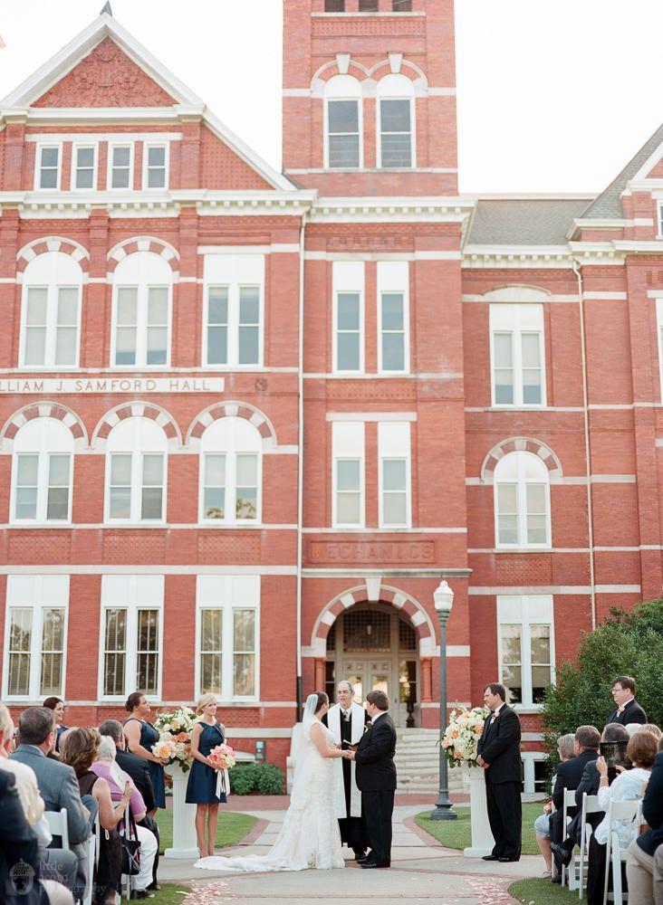 Auburn University Wedding Samford Hall