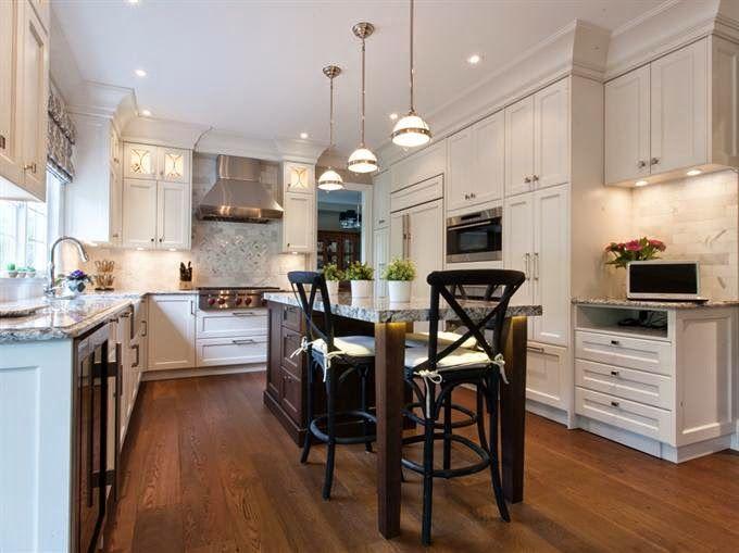 Cocinas con estilo Un aire moderno en la cocina clásica