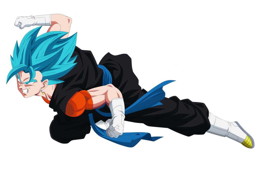 Vegetto Super Saiyan Blue Dragon Ball Heroes By Yobugv Anime Dragon Ball Super Dragon Ball Super Anime Dragon Ball
