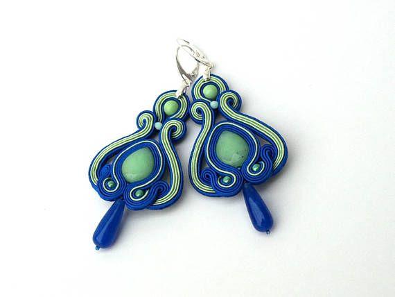 Soutache earrings Minnie