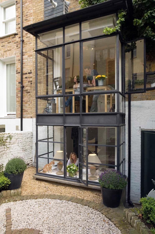 Modisch akzentuiert | Exterior design, Modern and Remodeling ideas
