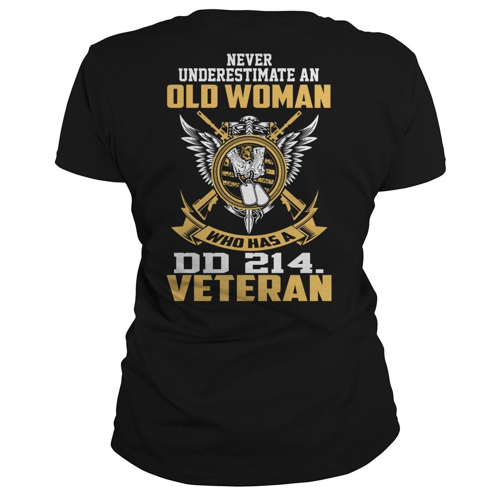 Never underestimate an old woman who has a DD 214 veteran