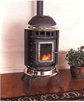 Pellet Stoves Small Stove Big Heat Old House Web With Images