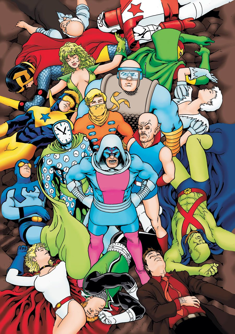Injustice League By Kevin Maguire Comic Book Covers Comics Comic Covers