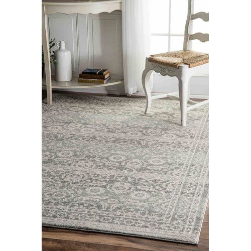 Found it at Wayfair - Gray Area Rug