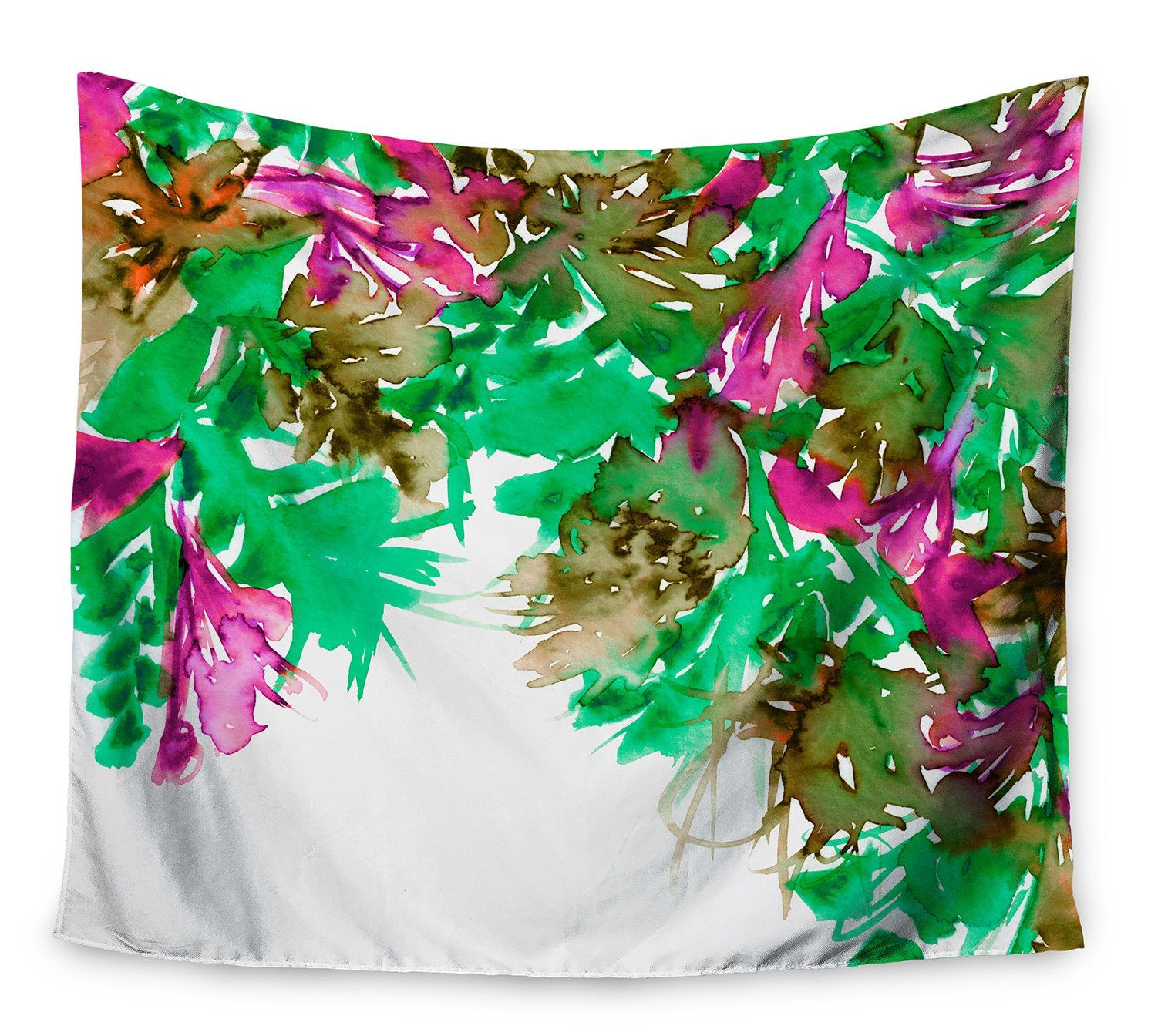 Floral cascade by ebi emporium wall tapestry products