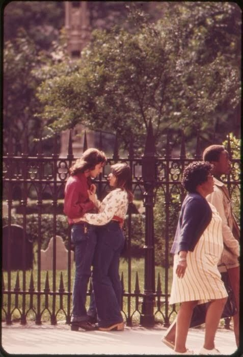 Lovers 1973 NYC