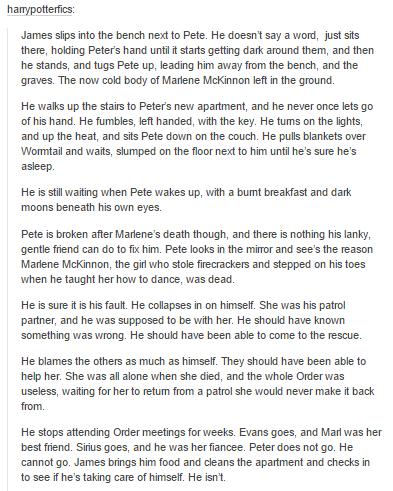 the marauders part 1 - peter pettigrew