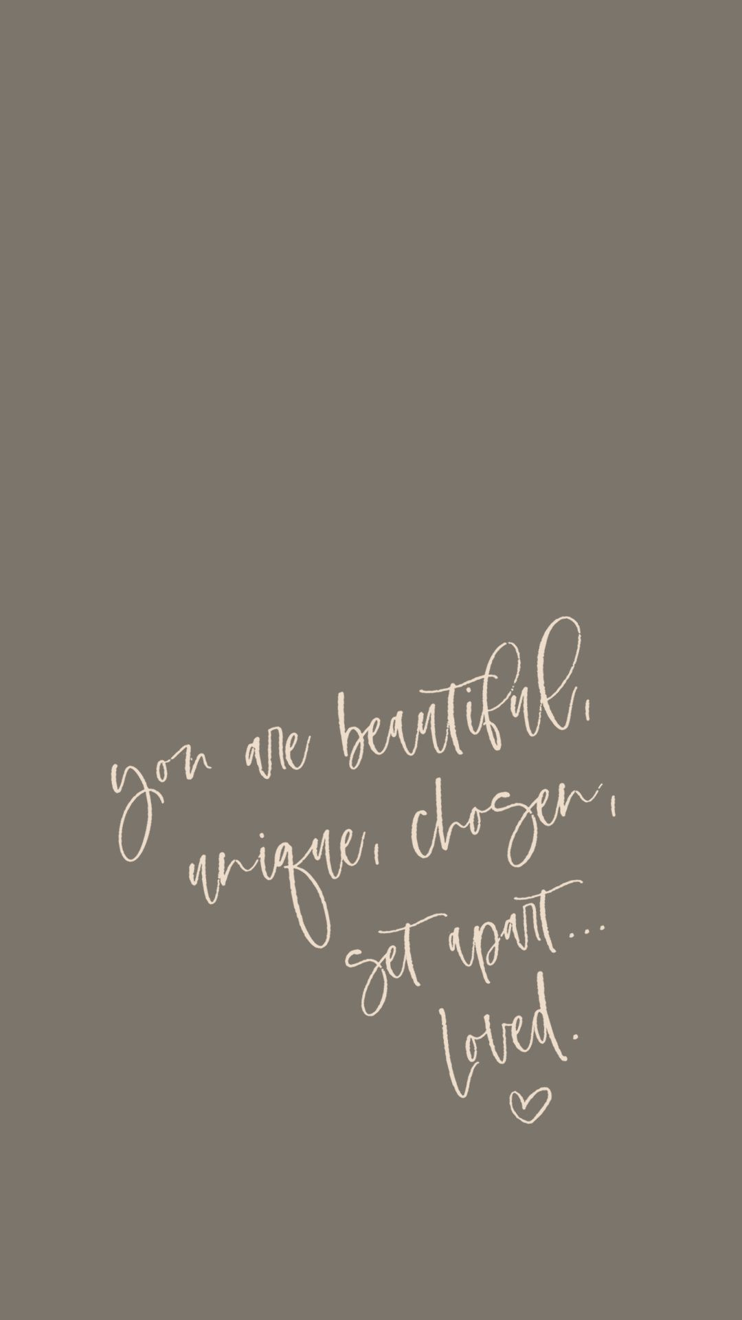 iPhone Wallpaper Background. Handwritten. Inspirational Quote