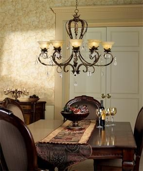 I love raught iron home decor !! I love this chandelier !!!