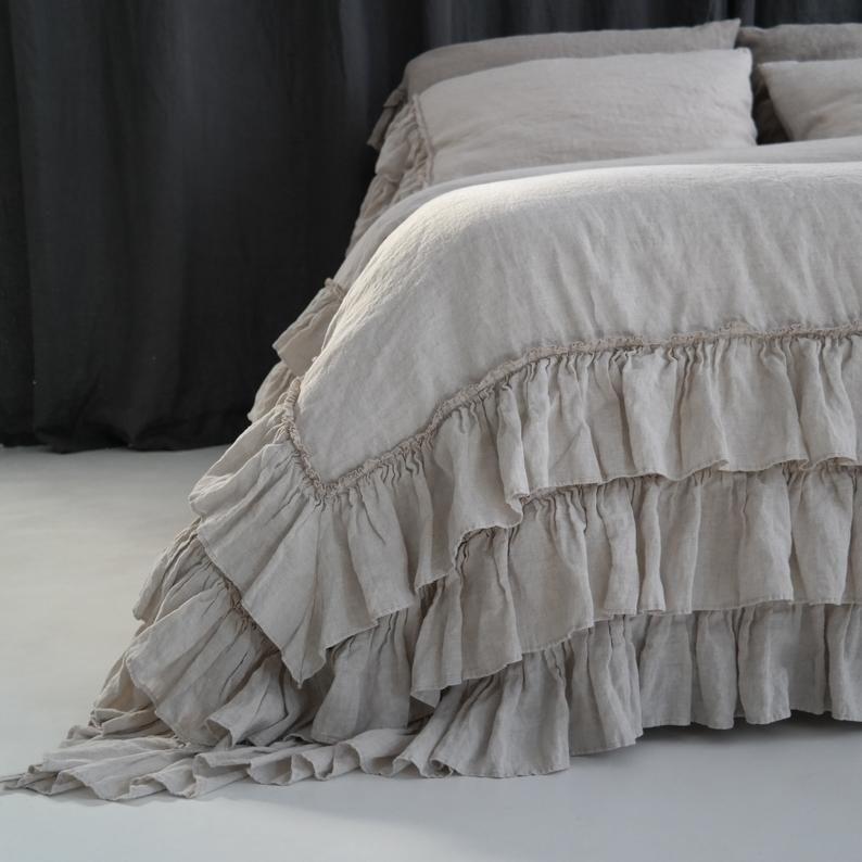 Linen Duvet Cover Linen Bedding Set French Style Thick Etsy Country Bedding Sets Linen Duvet Covers Linen Duvet