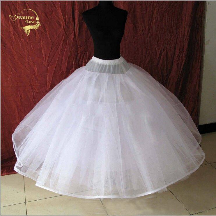 robe de mariée de ballet jupon de jupon de jupon de crinoline de jupon