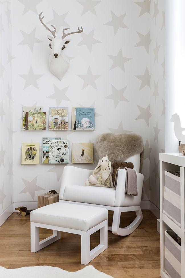 Neutral woodland nursery design by @Sissyandmarley cutest reading