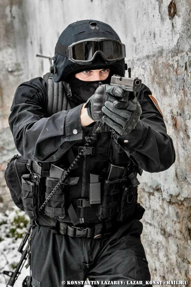 получения фото красивое в маске спецназа можно
