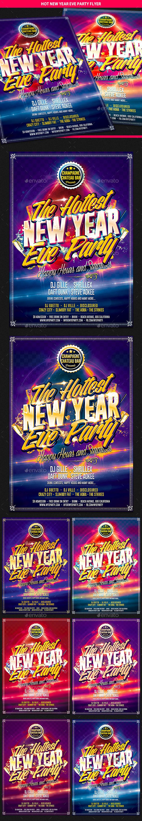 Pin by Alex on Night party poster template | Party flyer ...