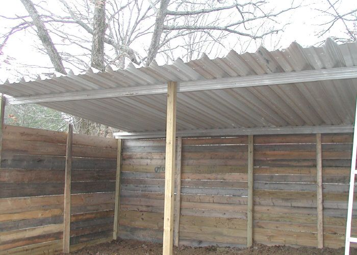 Aluminum Awning Panels | 20 acres | Loafing shed, Aluminum