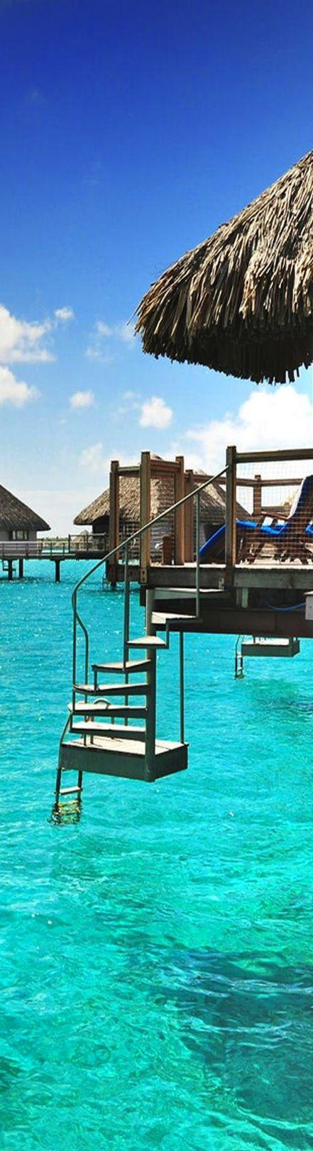 amazing tropical overwater huts reisen urlaub und. Black Bedroom Furniture Sets. Home Design Ideas