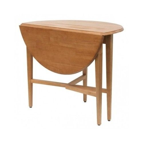 Kitchen Table Round Dining Room Drop Leaf Half Moon Wood Folding 42 Inch Dinning Drop Leaf Table Round Dining Room Dining Table In Kitchen