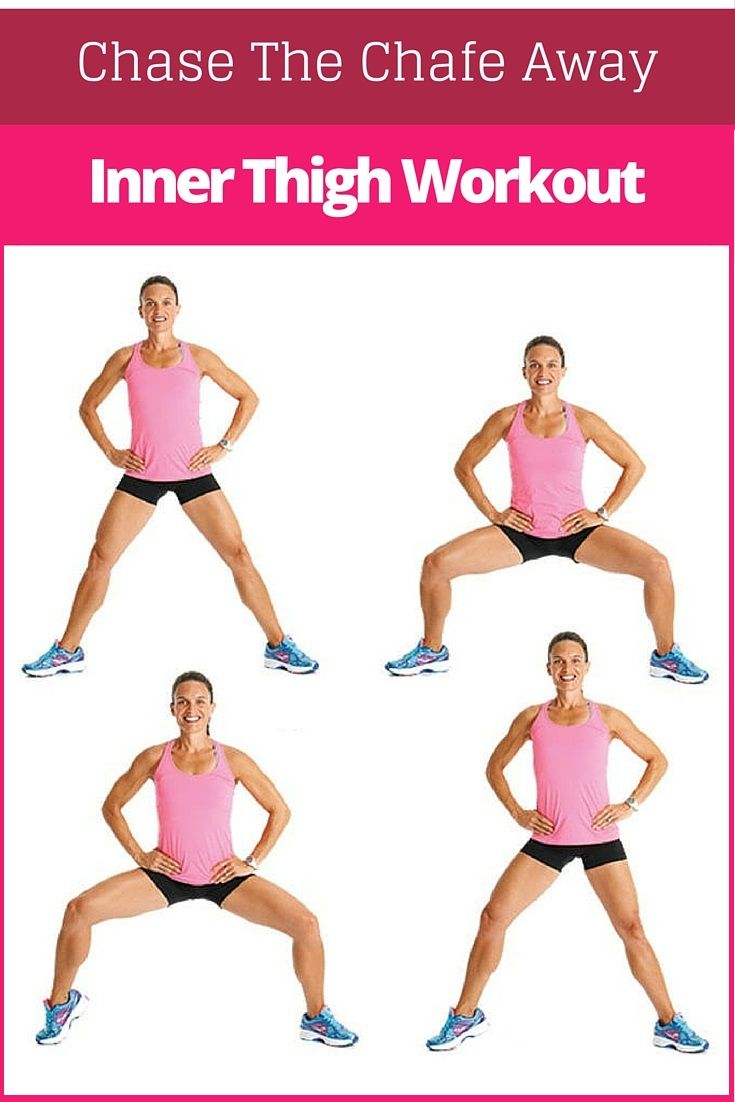 Inner Thigh Workout  Everything Health u Fitness  Pinterest