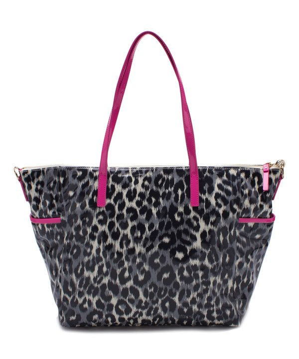 Look at this Kate Spade Leopard Daycation Adaira Diaper Bag on #zulily today!  I can make this!