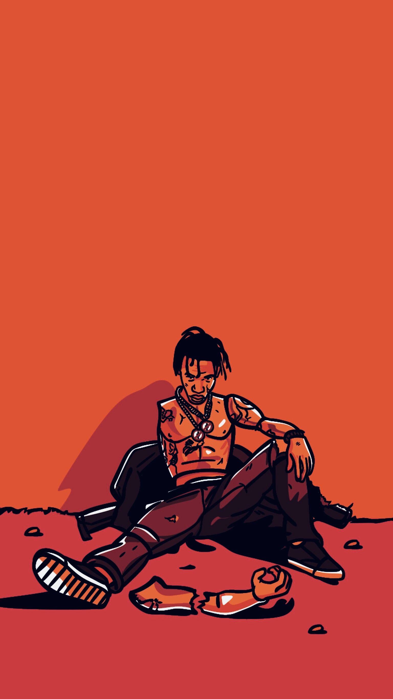 Pin By Universe Sk On La Flame Travis Scott Iphone Wallpaper Travis Scott Wallpapers Travis Scott Art