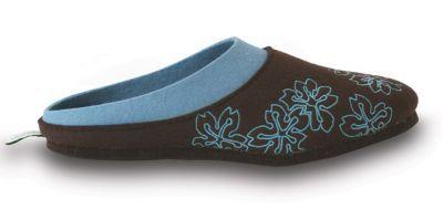 felt slippers at www.puschn.de