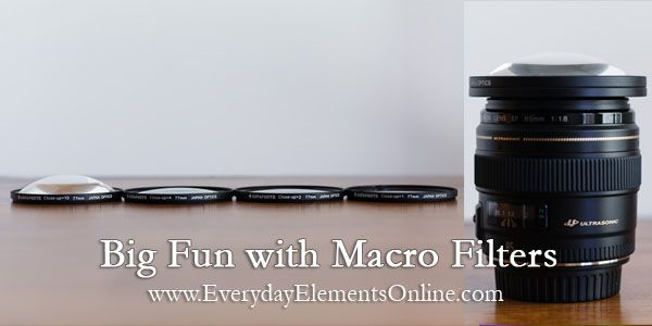 Big Fun With Macro Filters via http://everyday-elements.net