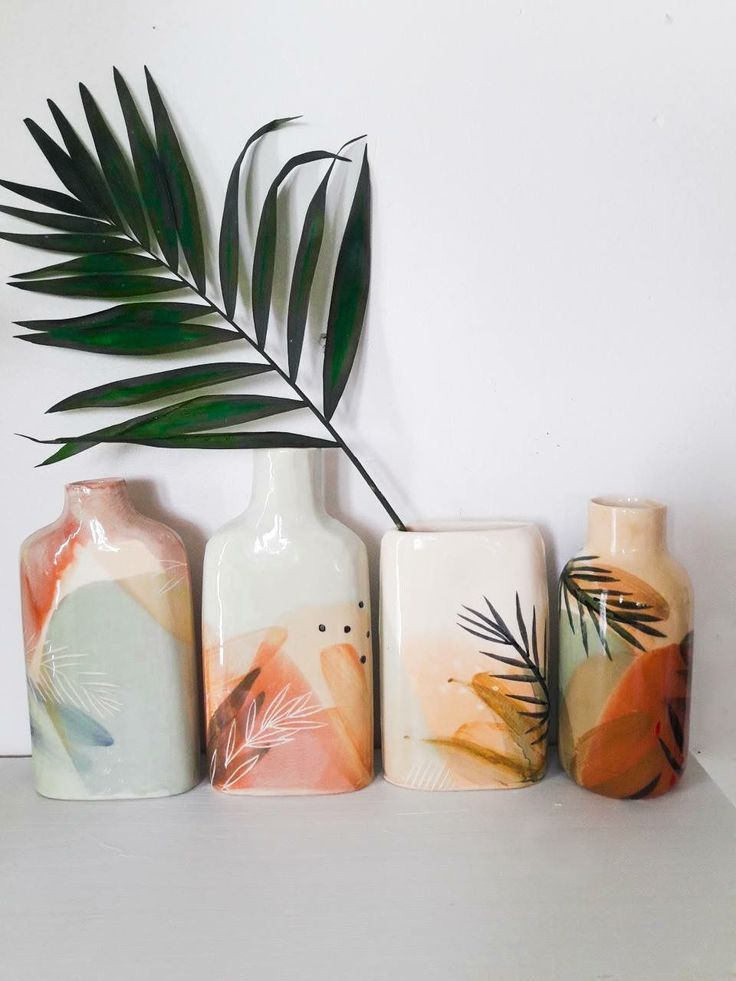 tropical pattern inspiration | ceramics inspiration | color palette inspiration | home decor inspiration #tropicalpattern