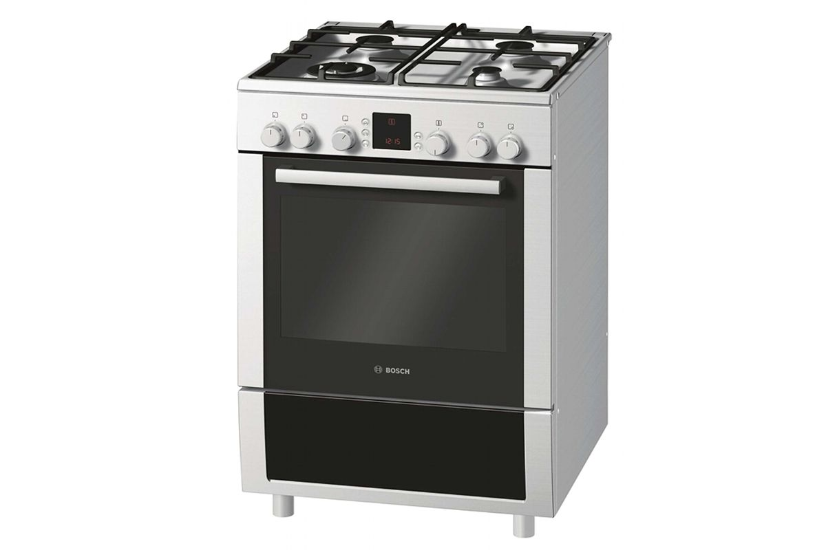 Bosch cm freestanding oven with gas cooktop fittings and