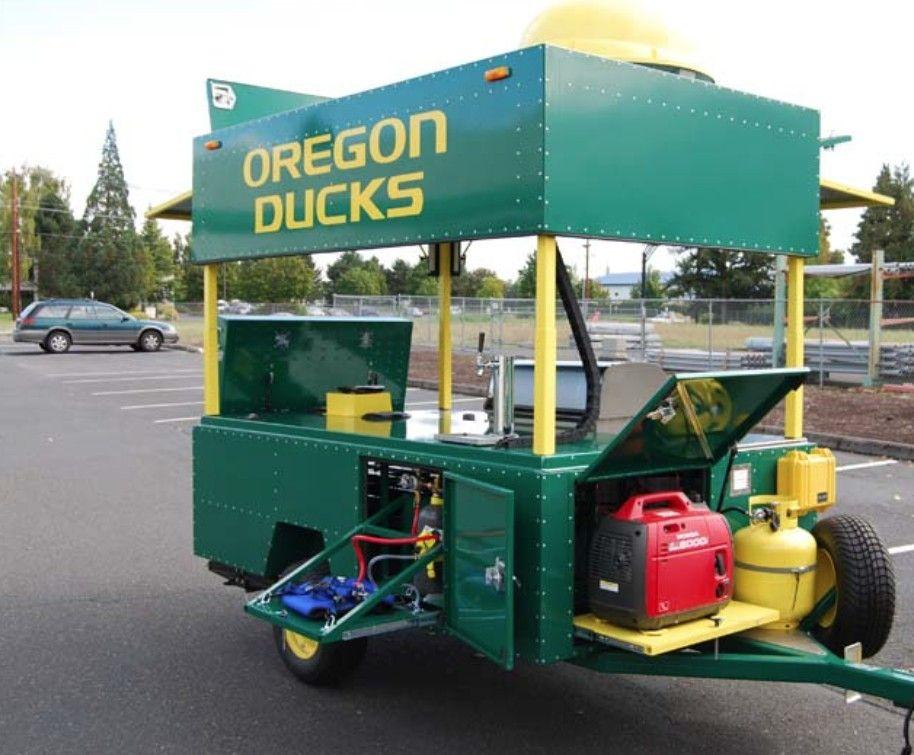Custom Tailgating Trailer Tailgating trailers, Custom