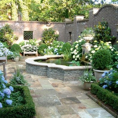 Traditional Courtyard Design Ideas Pictures Remodel And Decor
