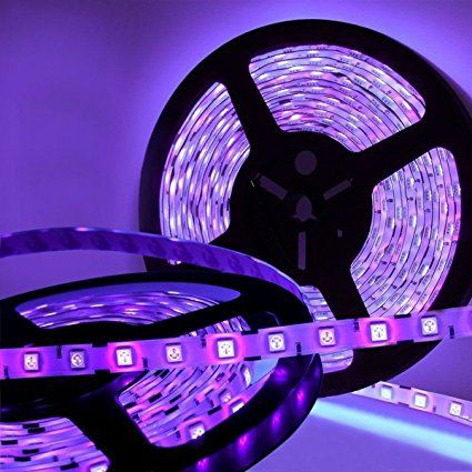 Blacklight String Lights Glamorous Amazon Joygo 16Ft 5050 Smd Waterproof 300 Uv Ultraviolet Led Decorating Design