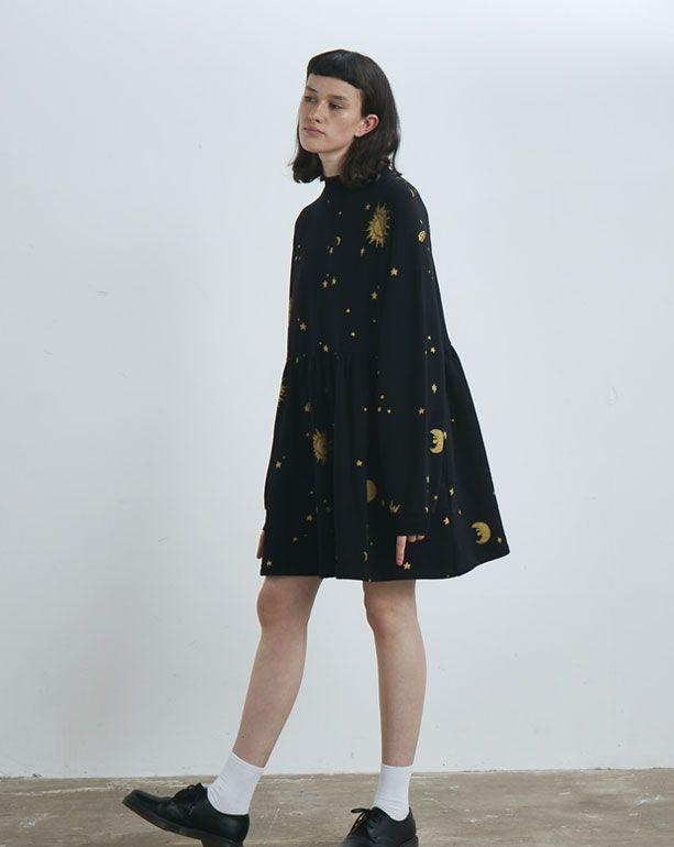 7cf6323e5b8 Lazy Oaf Golden Galaxy Sweater Dress - Everything - Categories - Womens  Size M L