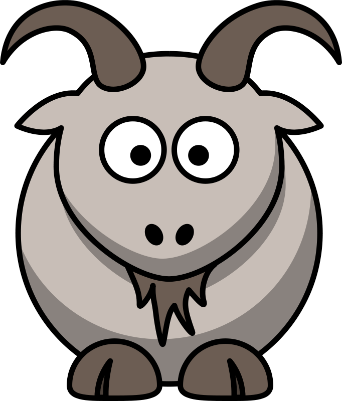 free clipart cartoon goat animals cartoon animals pinterest rh pinterest nz free clipart cartoon farm animals free clipart farm animals black and white