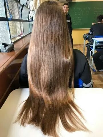 Hairjob with blond ponytail