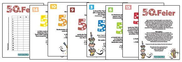 Steht ein besonderer runder #Geburtstag vor der Tür? Wenn Sie eine Feier zum 50. Geburstag planen und eine passende Unterhaltung suchen, dann schauen Sie sich das Quiz an. 15 Fragen, die alle im Zusammenhang mit der Zahl 50. stehen.