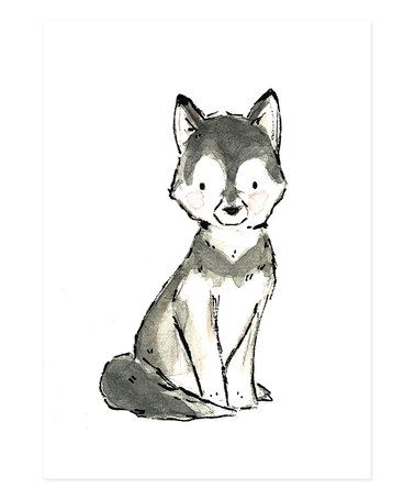 Take a look at this Husky Giclée Print by trafalgar's square on #zulily today!