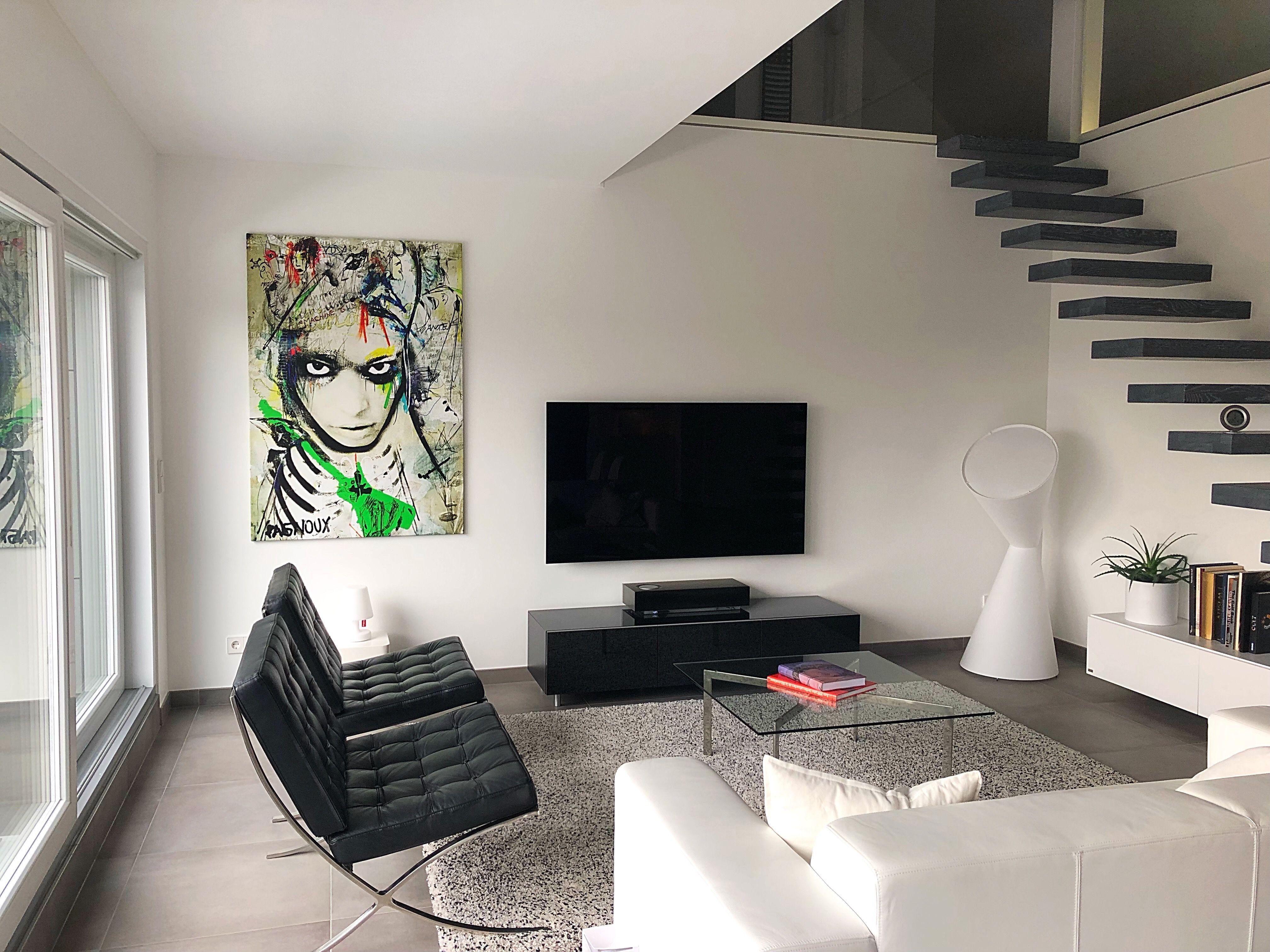 Foto Als Wanddecoratie.Northern Star Van Sandrine Pagnoux In 2019 Woonkamer I Werk Aan De