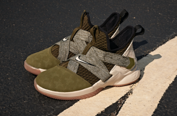 89e6c5aa63b8 Nike LeBron Soldier 12 Olive (Land And Sea) Releasing Tomorrow ...