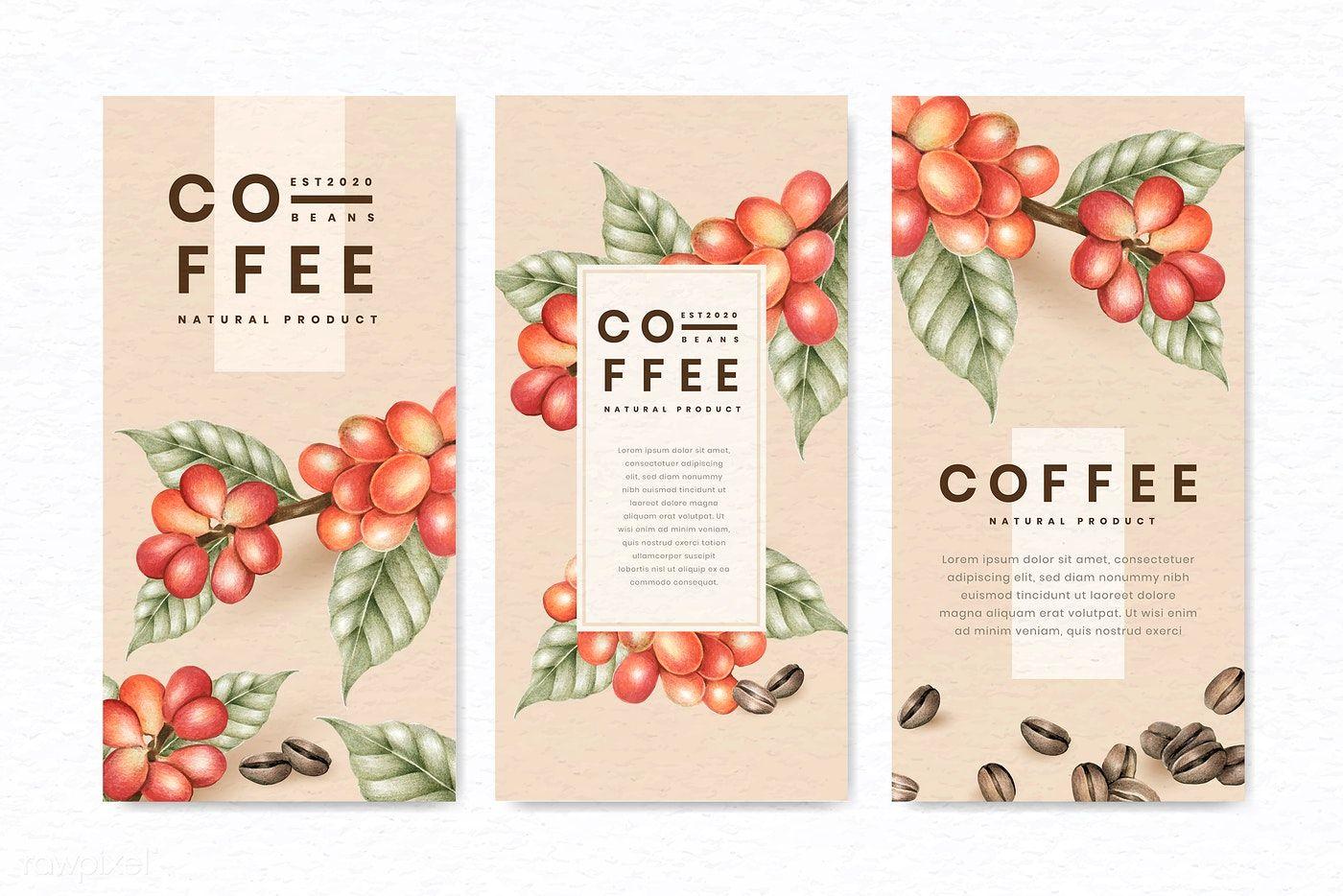 Download premium vector of International coffee day design