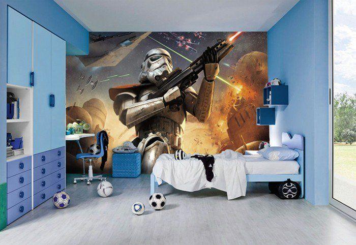 La Chambre Star Wars Faire Une Decoration A L Aide De Votre