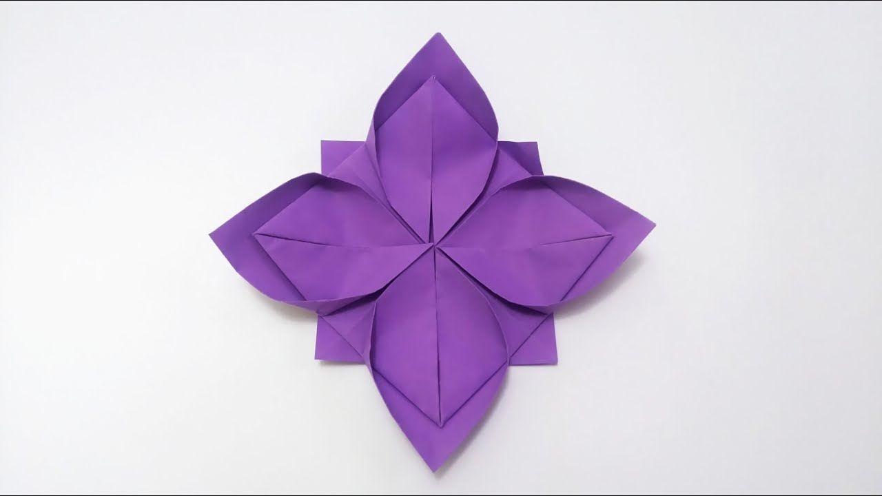 Kwiat Lotosu Origami Poradnik Origami Lotus Flower Lotus Origami Origami Flowers Tutorial