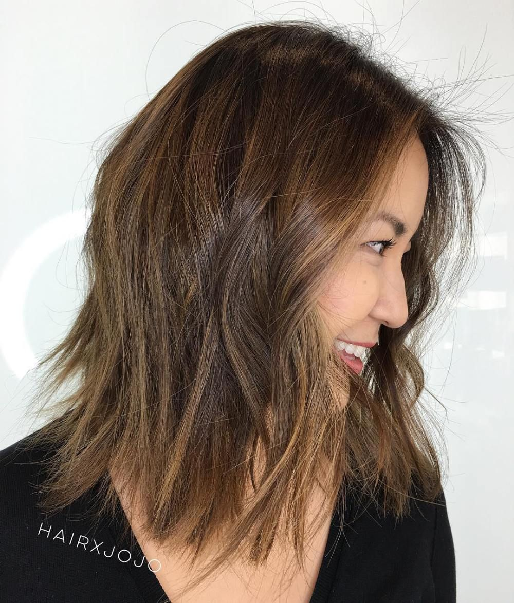 Medium Cut Hairstyles Enchanting 60 Most Beneficial Haircuts For Thick Hair Of Any Length  Choppy