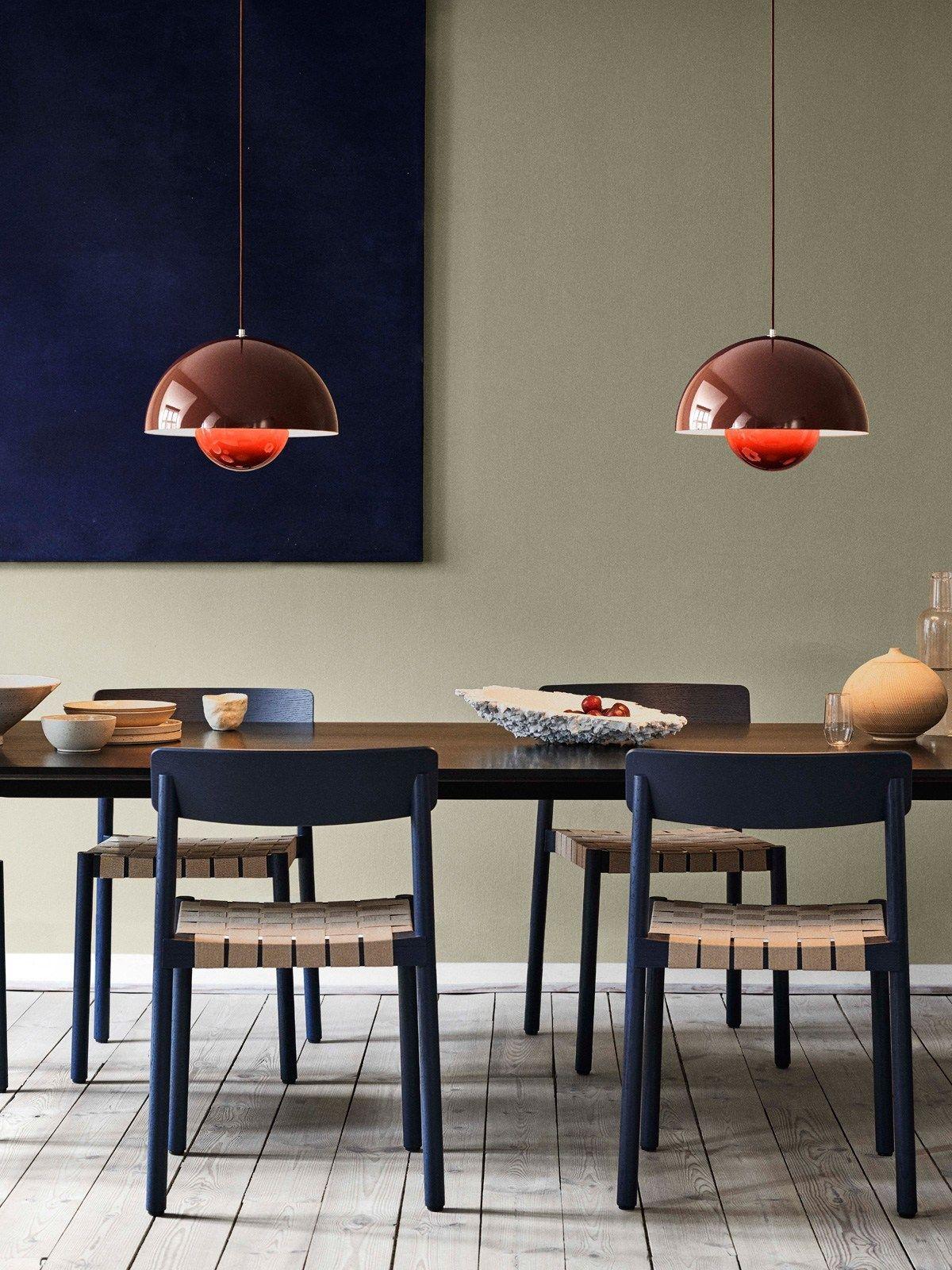Big Flowerpot Vp2 In Neuen Farben Tradition Skanidnavisch Design Leuchten Bauhaus Interior Design Esstisch Beleuchtung