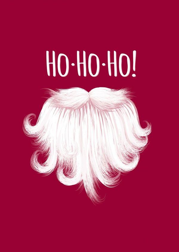 Ho Ho Ho Frohe Weihnachten.Ho Ho Ho Frohe Weihnachten Echte Postkarten Online