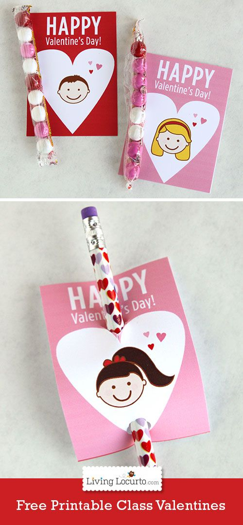Free Printable School Valentine S Day Cards For Kids By