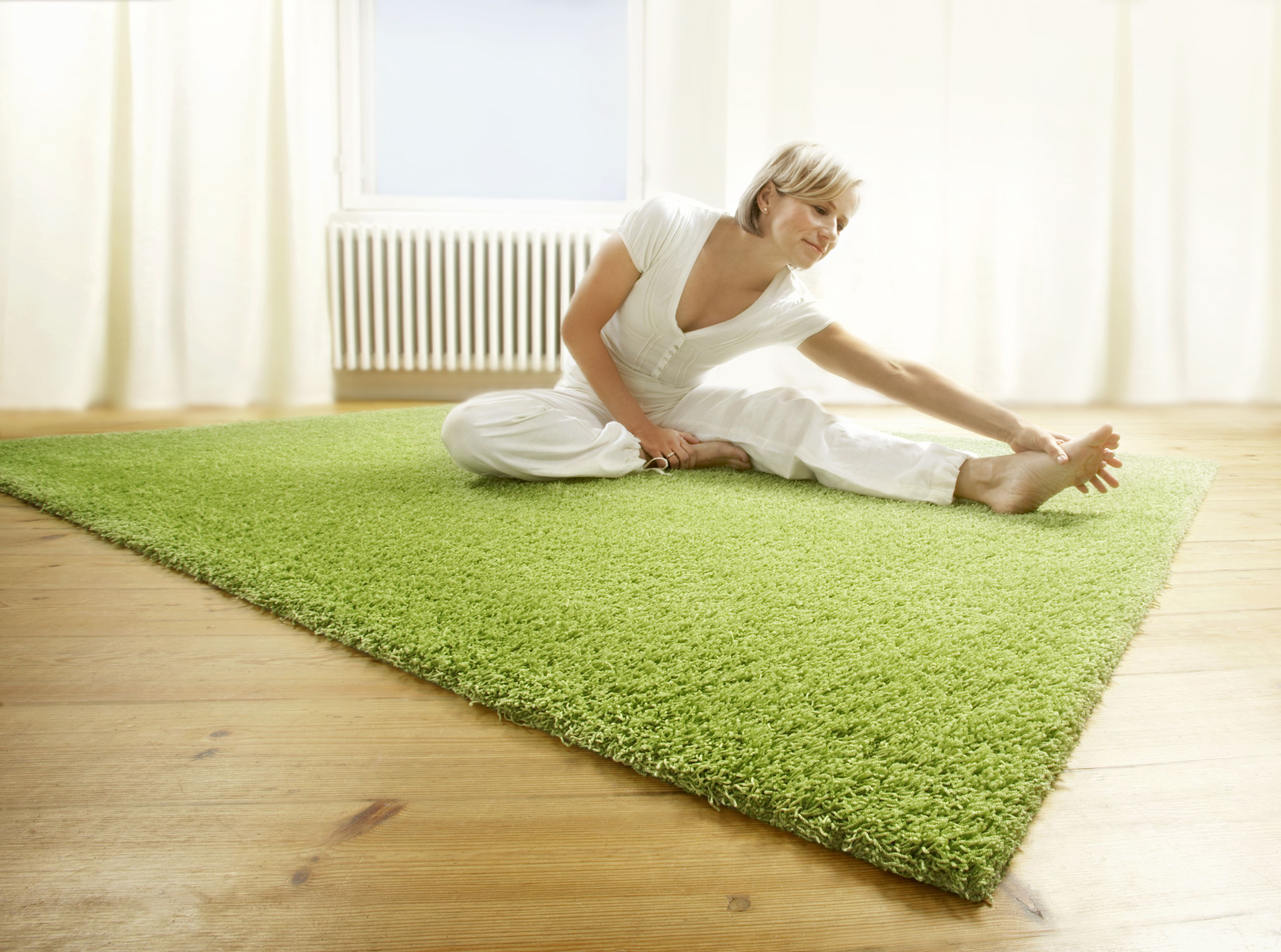 majestic rug with cuttings in bedroom | vm-carpet fantastic rug, Badezimmer ideen